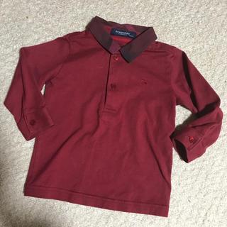 BURBERRY - バーバリーロンドン シャツ カットソー  チェック柄襟