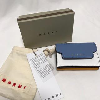 マルニ(Marni)のMARNI   大人気色 品薄 マルニ  トリフォールドウォレット 三つ折り財布(財布)