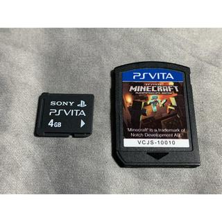 PlayStation Vita - vita マイクラ メモリーカード 送料無料 ①
