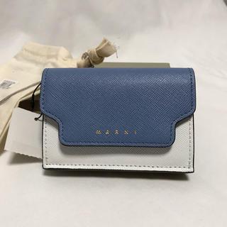 マルニ(Marni)の新品未使用 MARNI コンパクト 財布 マルニ 三つ折り(財布)