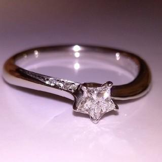 スタージュエリー(STAR JEWELRY)のスタージュエリー 幻のスターカット ダイヤモンド プラチナ リング    (リング(指輪))