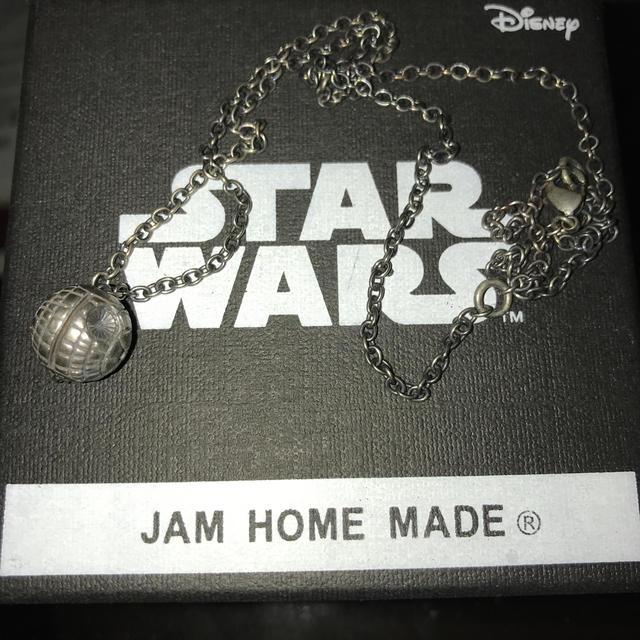 JAM HOME MADE & ready made(ジャムホームメイドアンドレディメイド)のJAM HOME MADE デススターネックレス メンズのアクセサリー(ネックレス)の商品写真