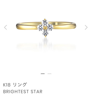 STAR JEWELRY - スタージュエリー k18 リング