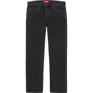 Supreme - Supreme Stone Washed Black Slim Jean W36