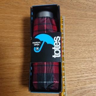 トーツ(totes)のjeeさま専用【新品】TOTES 折り畳み傘 手のひらサイズ コンパクト傘(傘)