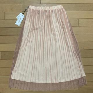 シマムラ(しまむら)のプリーツスカート  チュールスカート (ロングスカート)