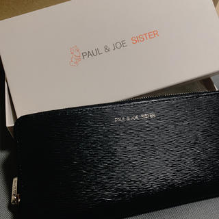 PAUL & JOE SISTER - 新品 Paul & JOE sister 長財布 黒