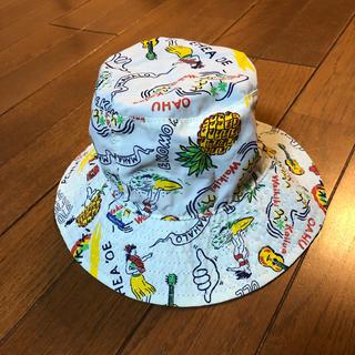 エフオーキッズ(F.O.KIDS)のbreeze リバーシブル ベビー  帽子 美品(帽子)
