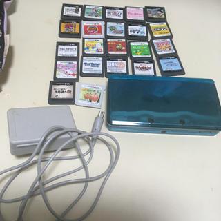 ニンテンドー3DS(ニンテンドー3DS)のDSと3DSの、本体とソフト22点まとめ売り!(家庭用ゲームソフト)