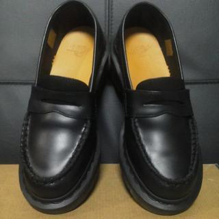 ドクターマーチン(Dr.Martens)の【専用】Dr.Martens KIZZY UK3 黒 厚底 ヒール ローファー(ローファー/革靴)