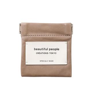 beautiful people - 【新品】beautiful people ★ レザースモールケース