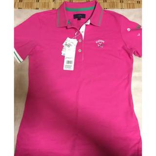 キャロウェイゴルフ(Callaway Golf)の新品未使用 キャロウェイゴルフ レディース ポロシャツ(ウエア)