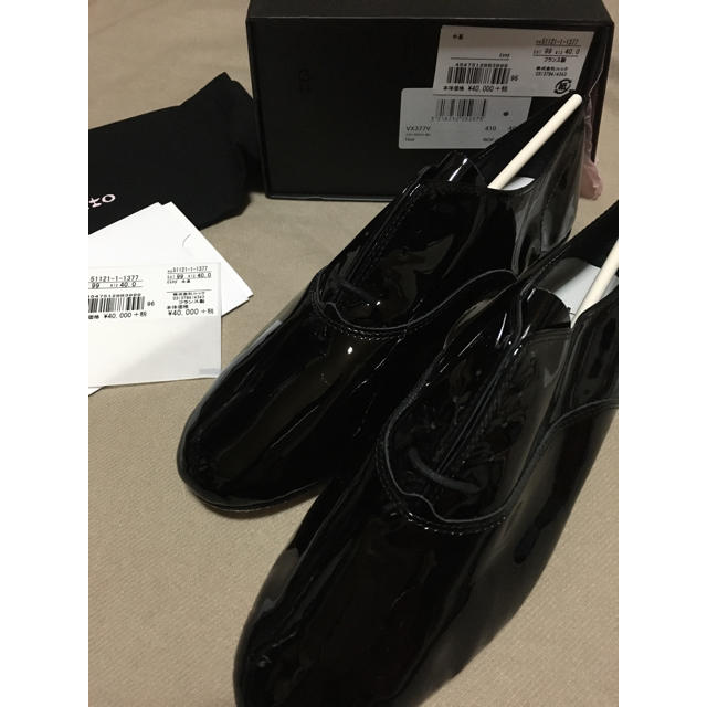 repetto(レペット)のrepetto(レペット) ZIZI  エナメル Noir(ブラック)40 新品 レディースの靴/シューズ(ローファー/革靴)の商品写真