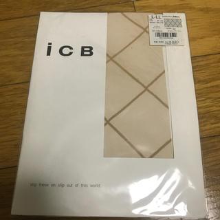 アイシービー(ICB)のICB ダイヤモンドライン柄タイツ(タイツ/ストッキング)