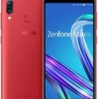 エイスース(ASUS)の新品未開封 Zenfone Max M1 ルビーレッド(スマートフォン本体)