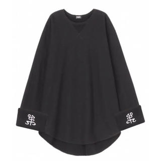 パメオポーズ(PAMEO POSE)のPAMEO POSE ✯ EMBROIDERED BIG CUFF TOP(ロングストレート)