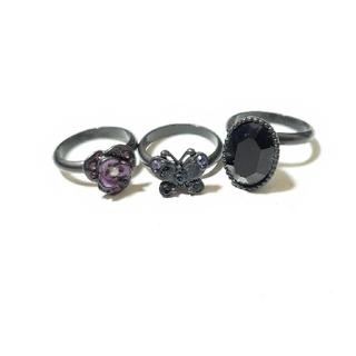 ANNA SUI - ANNA SUI 指輪 3種類セット