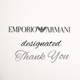 エンポリオアルマーニ(Emporio Armani)のkae.18 様 専用★EMPORIO ARMANI ショッパー(ショップ袋)