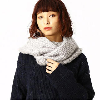 ✨COMME CA ISM✨スヌード 新品未使用