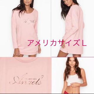 ヴィクトリアズシークレット(Victoria's Secret)のヴィクトリアシークレット新作長袖ピンク色(Tシャツ(長袖/七分))