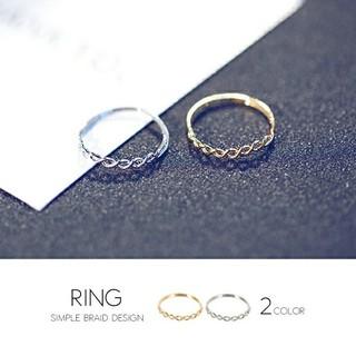 レディース シンプル シャープ リング(リング(指輪))