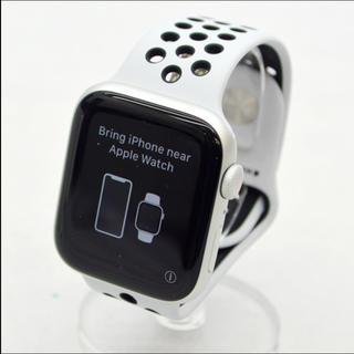 アップルウォッチ(Apple Watch)の【新品・未開封】Apple Watch Nike+ Series5 GPS シル(スマートフォン本体)