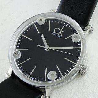 カルバンクライン(Calvin Klein)の【新品未使用】 カルバンクライン ブラック ウィメンズ 腕時計(腕時計)