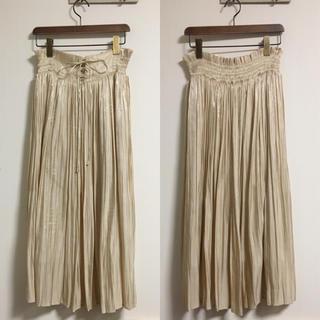 mysty woman - mysty woman♡サテンレースアップスカート