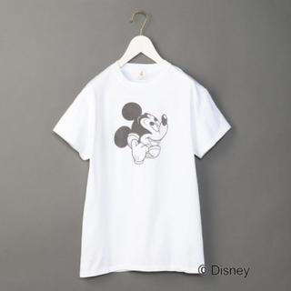 ビューティアンドユースユナイテッドアローズ(BEAUTY&YOUTH UNITED ARROWS)の【新品未使用タグ付き】ROKU 6 mickey ミッキーTシャツ ロク(Tシャツ(半袖/袖なし))