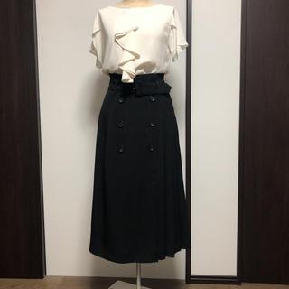 INGNI - INGNIのトレンチスカート ブラック