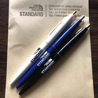ザノースフェイス(THE NORTH FACE)のノースフェイススタンダード ボールペン 3色セット(ペン/マーカー)
