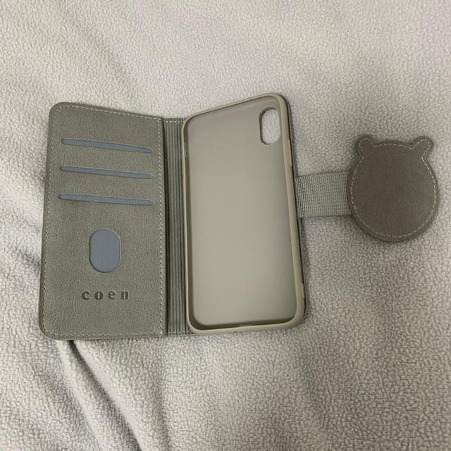 coen(コーエン)のiPhone XS ケース コーエン スマホ/家電/カメラのスマホアクセサリー(iPhoneケース)の商品写真