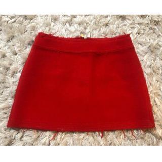 dholic - 可愛い赤ミニスカート