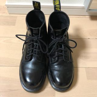 Dr.Martens - ドクターマーチン 6ホール ブーツ UK6 US8(L) 7(M) ブラック