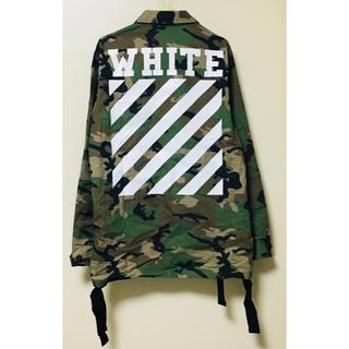 オフホワイト(OFF-WHITE)のOFF-WHITE ジャケット オフホワイト(その他)