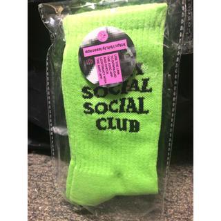 アンチ(ANTI)のanti social social club ソックス(ソックス)