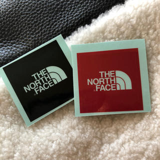 ザノースフェイス(THE NORTH FACE)の新品 THE NORTH FACE ノースフェイス  ミニ ステッカー 2枚(その他)