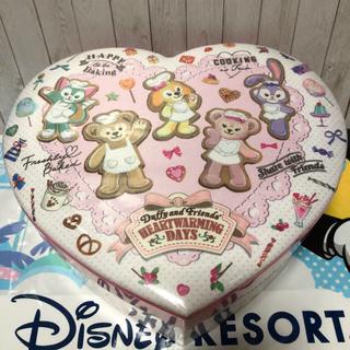 ダッフィー(ダッフィー)のワッフル 布貼箱 ♡ ハートウォーミング・デイズ(菓子/デザート)