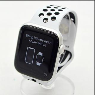 アップルウォッチ(Apple Watch)の【新品・未開封】Apple Watch Nike+ Series 5 GPSシル(スマートフォン本体)