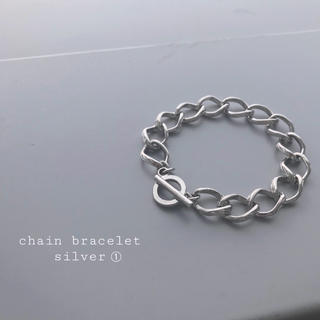 TOGA - 再入荷 chain bracelet silver ➀