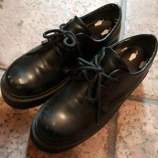 WEGO(ウィゴー)のWEGO 靴 厚底 黒 レディースの靴/シューズ(その他