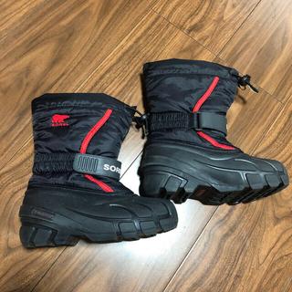 ソレル(SOREL)のソレル 17cm SOREL 美品 スノーブーツ(ブーツ)