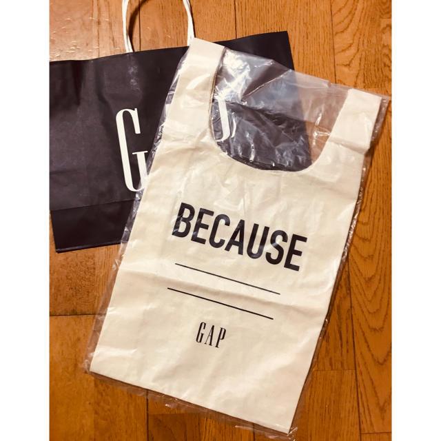 GAP(ギャップ)のGAPエコバッグ ノベルティ レディースのバッグ(エコバッグ)の商品写真