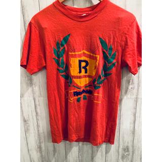 Reebok - Tシャツ Reebok リーボック レッド 70S 80S レア ヴィンテージ