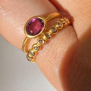 ピンクスピネルk18ゴールドリング検索 マリーエレーヌ ジェムパレス(リング(指輪))
