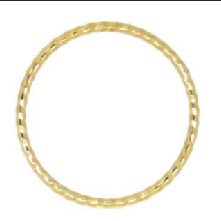 10k 華奢 ピンキーリング 3号(リング(指輪))