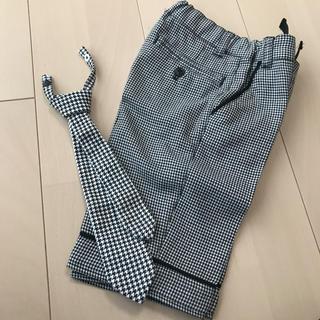 COMME CA ISM - コムサ フォーマルパンツ ネクタイ付き