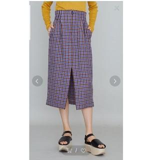ステュディオス(STUDIOUS)のUNITED TOKYO ガンクラブチェックスカート(ひざ丈スカート)