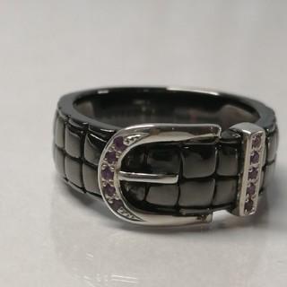 シルバーブラックリング(リング(指輪))