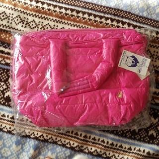 ルートート(ROOTOTE)のルートートフェザールトートバッグ(濃いピンク)(トートバッグ)